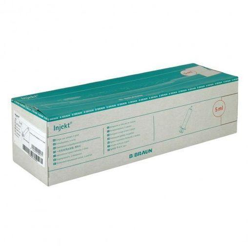 Шприц Injekt 2-х компонентный съемная игла 21G, 5 мл, 100шт.