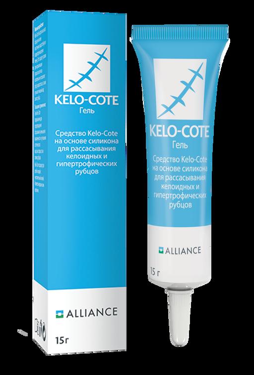 Kelo-Cote средство для рассасывания рубцов, гель, 15 г, 1шт.