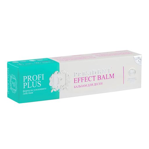 PresiDent Profi Plus Effect бальзам для десен, 30 г, 1 шт.