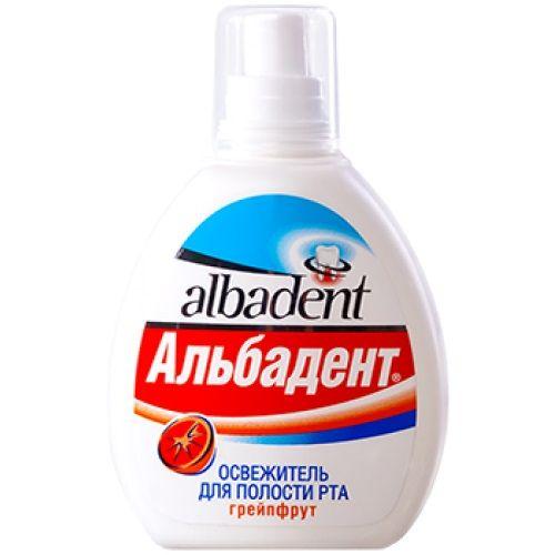 Альбадент Грейпфрут Освежитель для полости рта, раствор для обработки полости рта, 35 мл, 1шт.