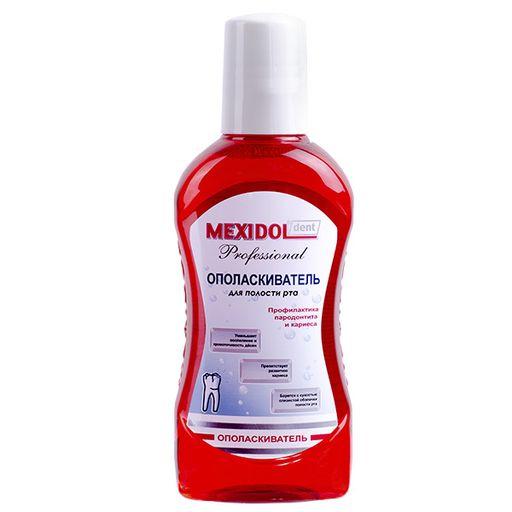 Mexidol dent Professional Ополаскиватель, раствор для полоскания полости рта, 250 мл, 1шт.