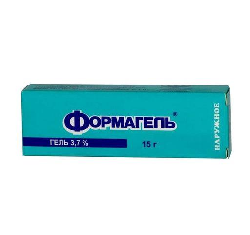 Формагель, 3.7%, гель для наружного применения, 15 г, 1шт.