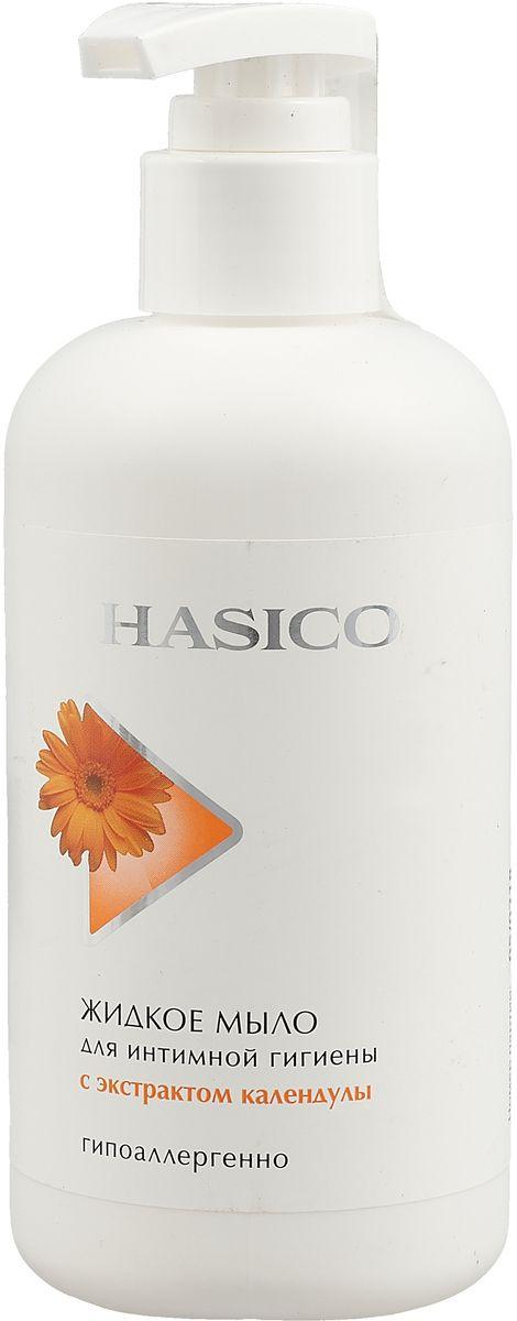 Hasico мыло жидкое для интимной гигиены Календула, мыло жидкое, 250 мл, 1шт.