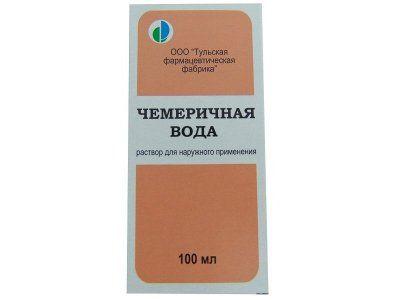 Чемеричная вода, раствор для наружного применения, 100 мл, 1шт.
