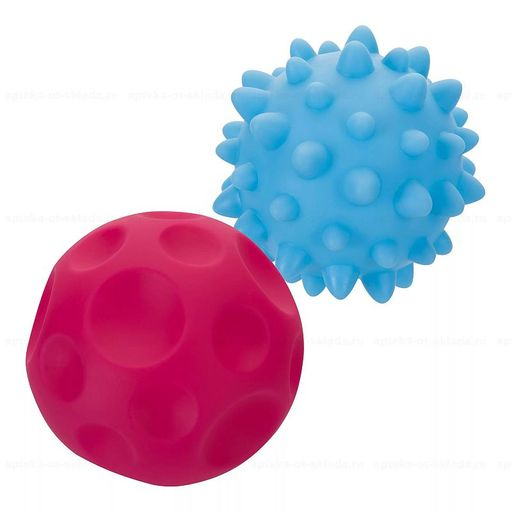 Курносики игрушка для ванны Детский мячик 6 мес+, в ассортименте, 1шт.