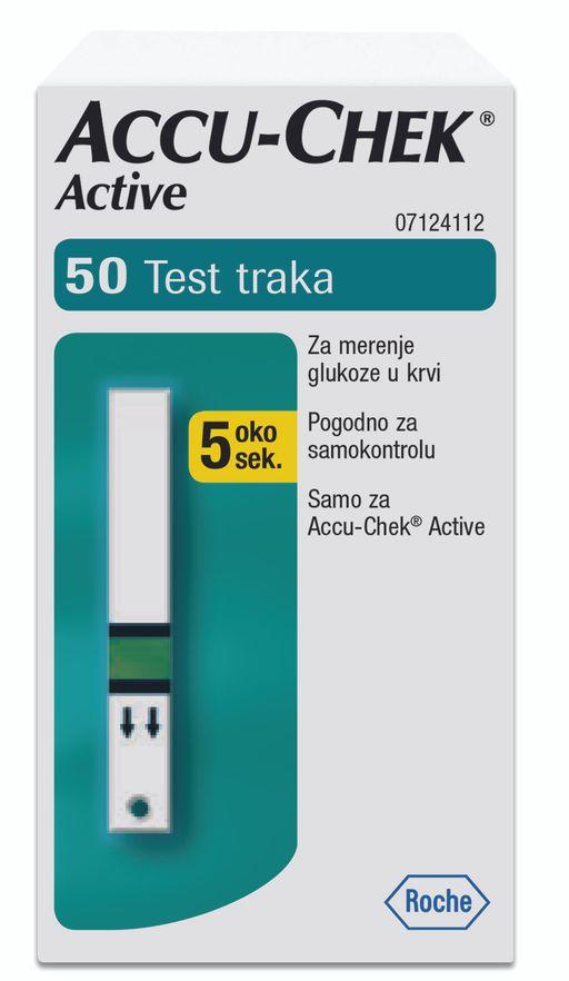Accu-Chek Active Тест-полоски, тест-полоска, 50шт.