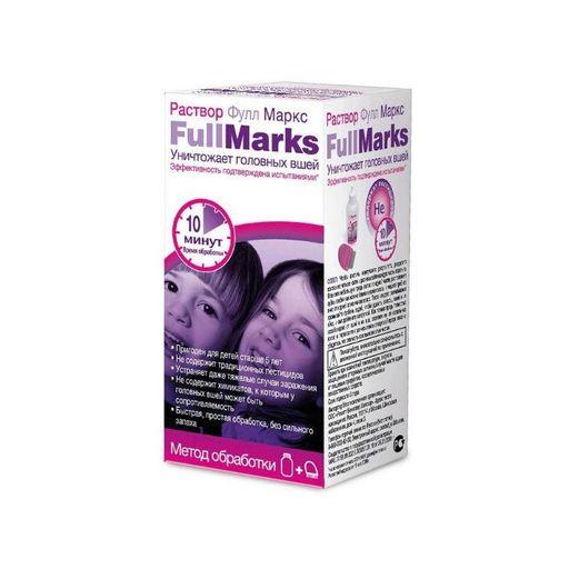 Фулл Маркс средство педикулицидное, раствор для наружного применения, 100 мл, 1шт.