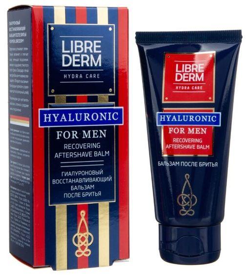 Librederm For Men гиалуроновый бальзам после бритья, бальзам, 50 мл, 1шт.
