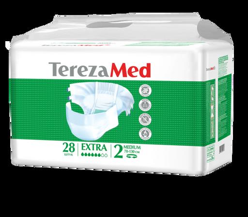 TerezaMed Extra подгузники для взрослых дневные, Medium M (2), 70-130 см, 28шт.