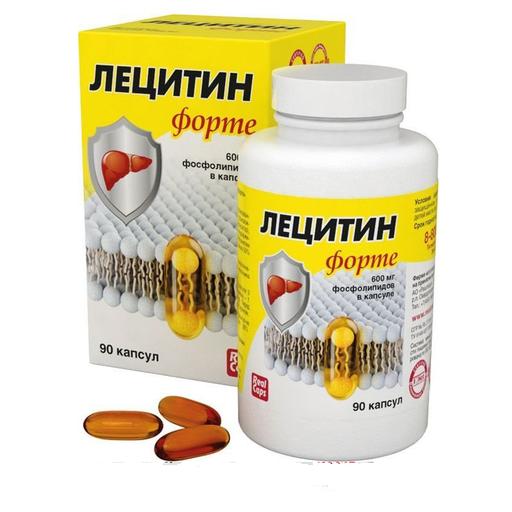 Лецитин Форте, капсулы, 90шт.
