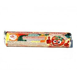 Аскорбиновая кислота с сахаром Сесана, 2.9 г, таблетки жевательные, со вкусом клубники, 10шт.