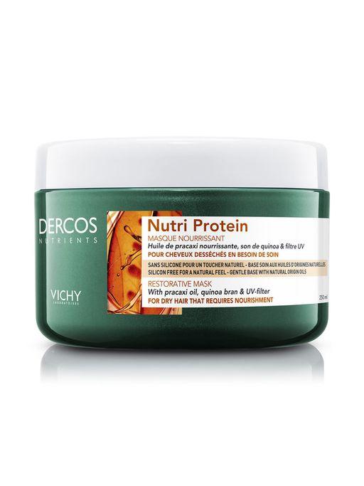 Vichy Dercos Nutrients Nutri Protein Восстанавливающая маска, 250 мл, 1шт.