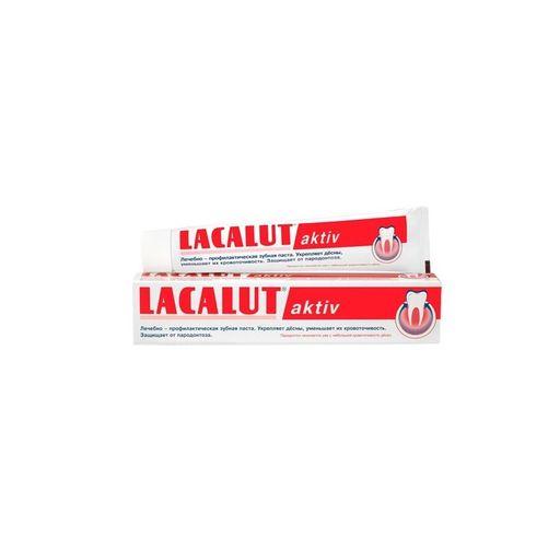 Lacalut Aktiv Зубная паста, паста зубная, 50 мл, 1шт.