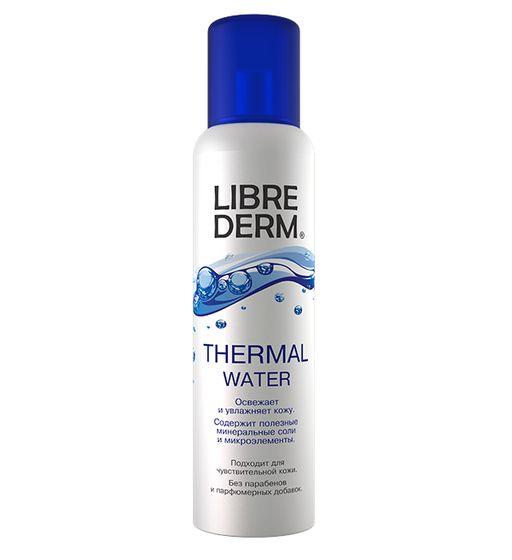 Librederm термальная вода, спрей, 125 мл, 1шт.