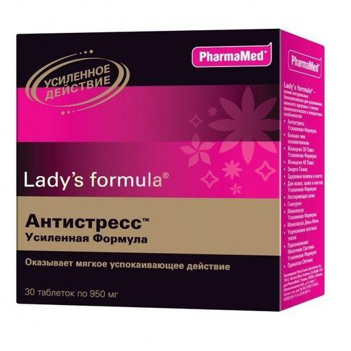 Lady's formula Антистресс усиленная формула, таблетки, 30шт.