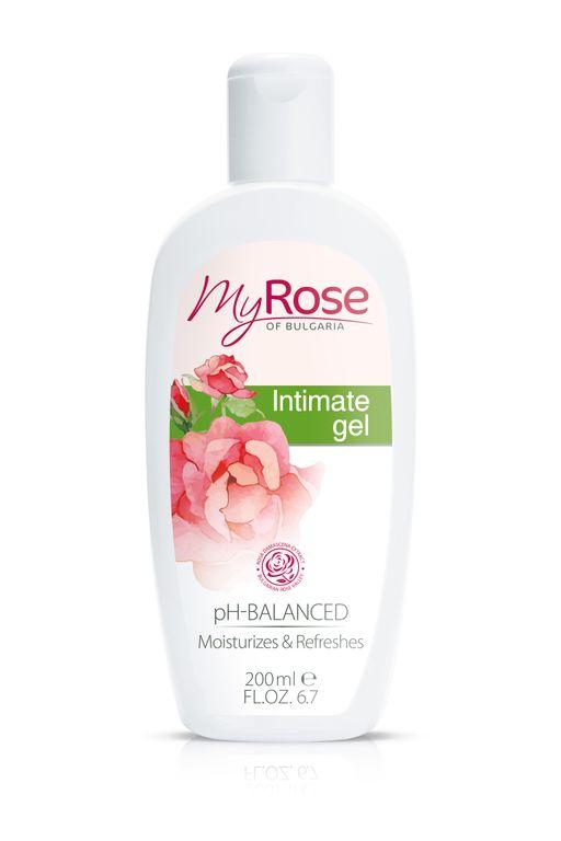 My Rose of bulgaria гель для интимной гигиены, гель, 200 мл, 1шт.
