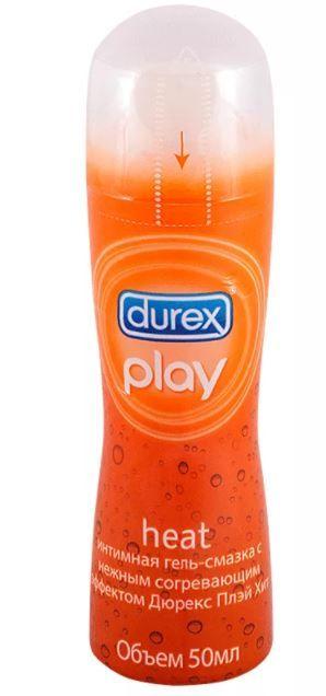 Гель-смазка Durex Play Heat, гель, 50 мл, 1шт.