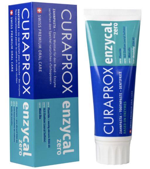 Curaprox Enzycal Zero Зубная паста, паста зубная, 75 мл, 1шт.