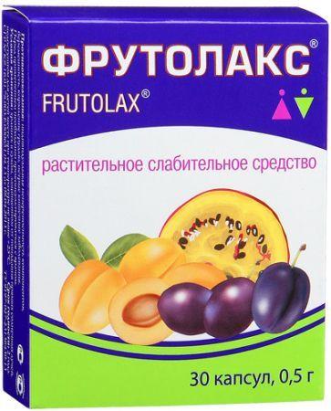 ФрутоЛакс, 0.5 г, капсулы, 30шт.