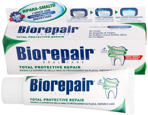Biorepair Зубная паста комплексная защита, паста зубная, 75 мл, 1шт.