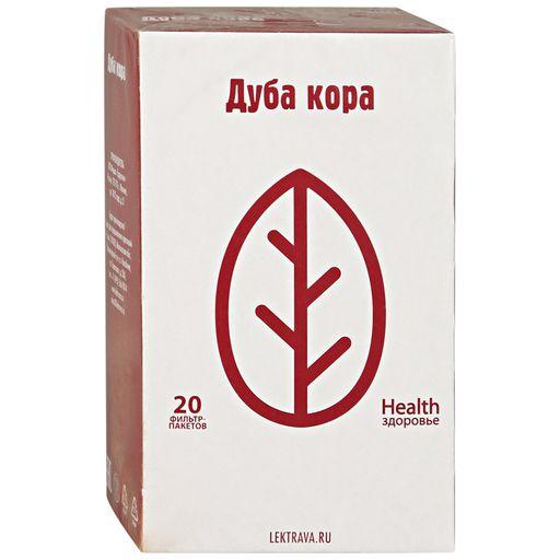 Дуба кора, сырье растительное-порошок, 1.5 г, 20шт.