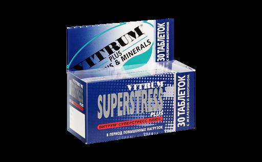 Витрум Суперстресс Плюс, таблетки, 30шт.
