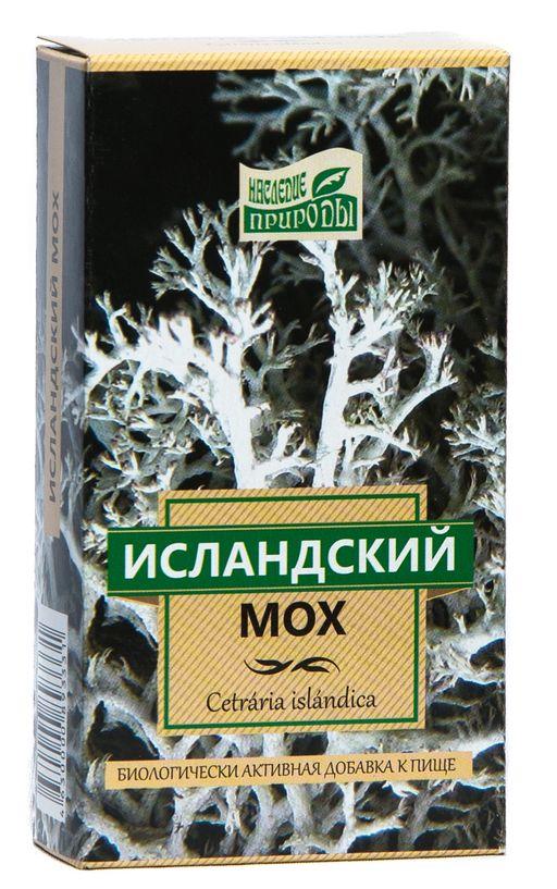 Исландский мох, фиточай, 30 г, 1шт.