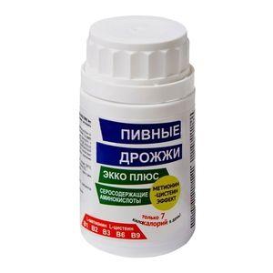 Пивные дрожжи Метионин-цистеин эффект, 0.45 г, таблетки, 60шт.