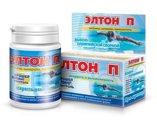Элтон П, 500 мг, таблетки, 60шт.
