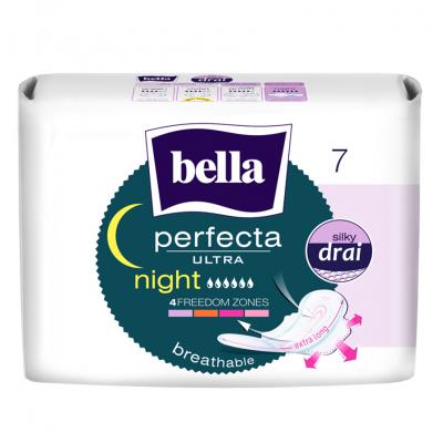 Bella perfecta ultra Night прокладки супертонкие, прокладка, 7шт.