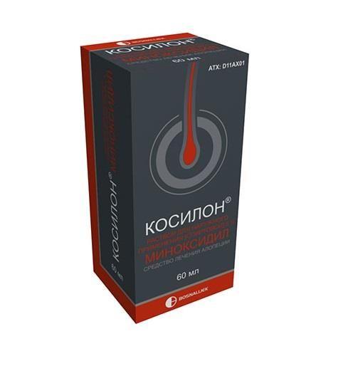 Косилон, 5%, раствор для наружного применения, 60 мл, 1шт.