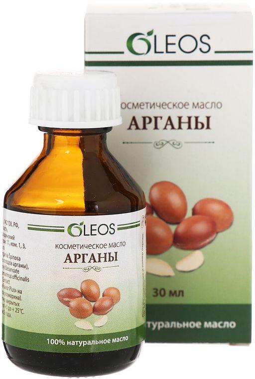 Oleos Арганы масло, масло косметическое, 30 мл, 1шт.
