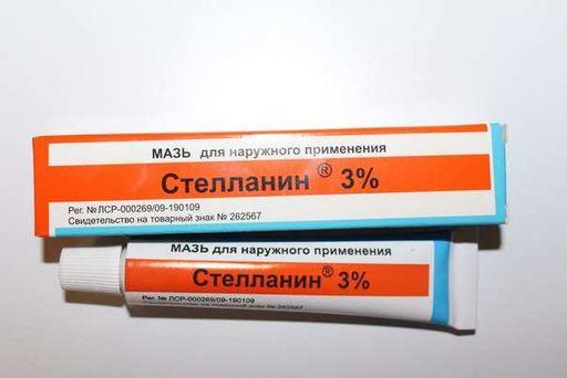 Стелланин, 3%, мазь для наружного применения, 20 г, 1шт.