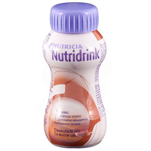 Nutridrink, жидкость для приема внутрь, со вкусом шоколада, 200 мл, 1шт.