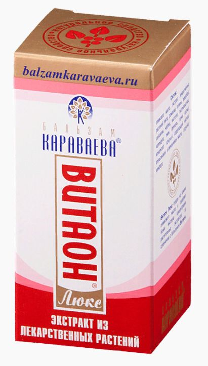 Витаон-Люкс бальзам Бальзам Караваева, бальзам для тела, 15 мл, 1шт.