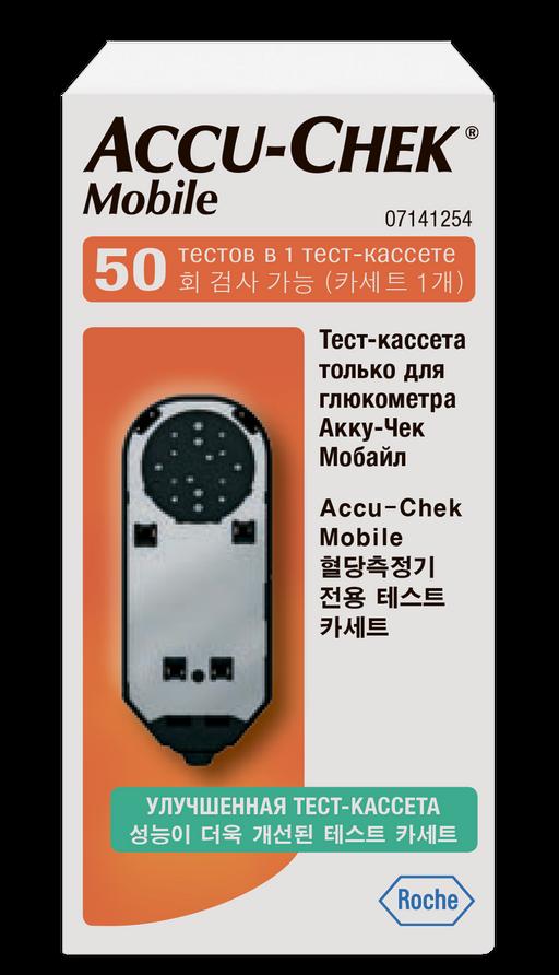 Accu-chek Mobile Тест-кассета, тест-система, 50шт.
