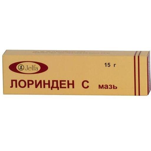 Лоринден С, мазь для наружного применения, 15 г, 1шт.