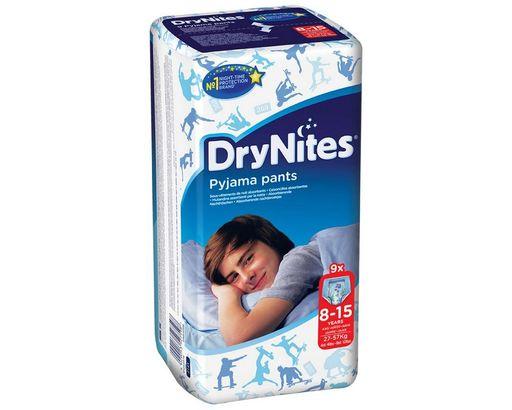 Huggies Drynites Подгузники-трусики, 8-15 лет, 27-57 кг, для мальчиков, 9шт.