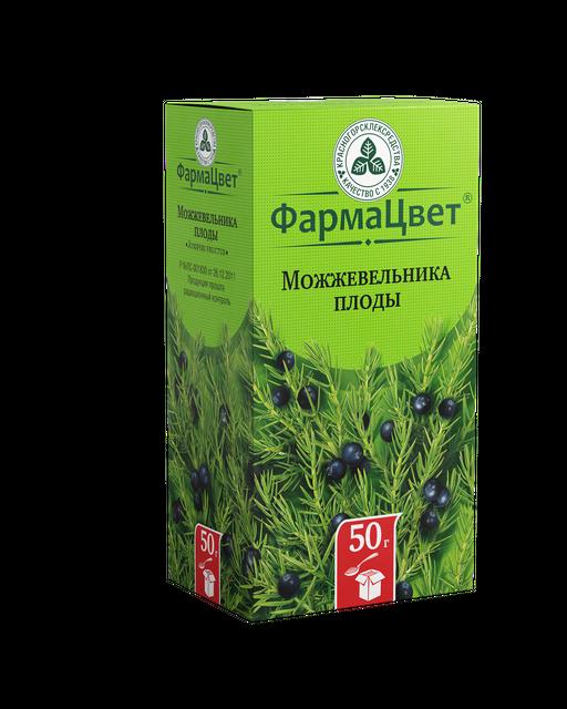 Можжевельника плоды, лекарственное растительное сырье, 50 г, 1шт.