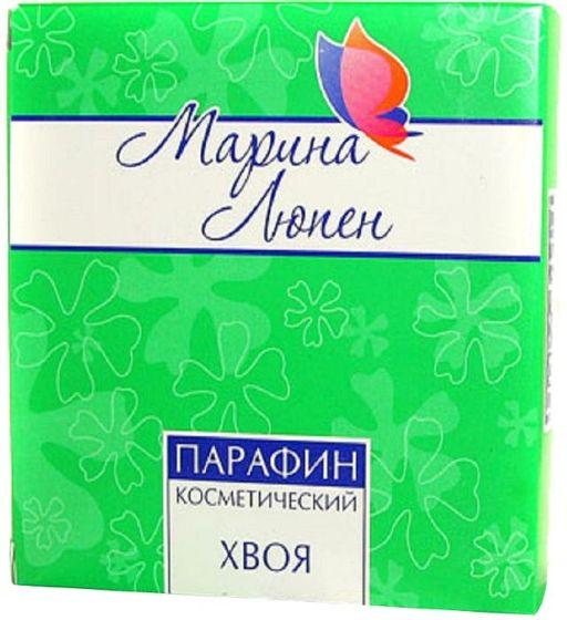Парафин косметический Марина Люпен с хвоей, субстанция-пластинки, 250 г, 1шт.