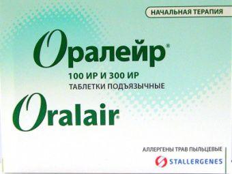 Оралейр, 100 ИР+300Ир, таблетки подъязычные, Начальный курс, 31шт.