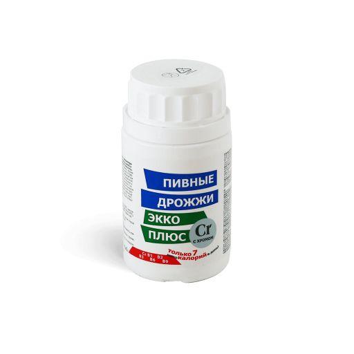 Дрожжи пивные Экко Плюс с хромом, 0.45 г, таблетки, 100шт.