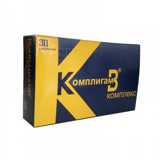 КомплигамB Комплекс, таблетки, 30шт.