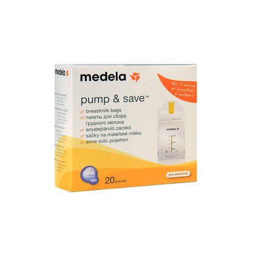Medela Пакеты для хранения грудного молока, одноразовый (-ая, -ое, -ые), 20шт.
