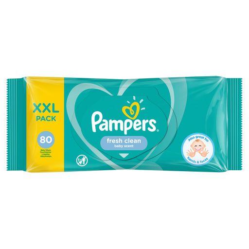 Pampers Fresh clean Салфетки влажные детские, 80шт.