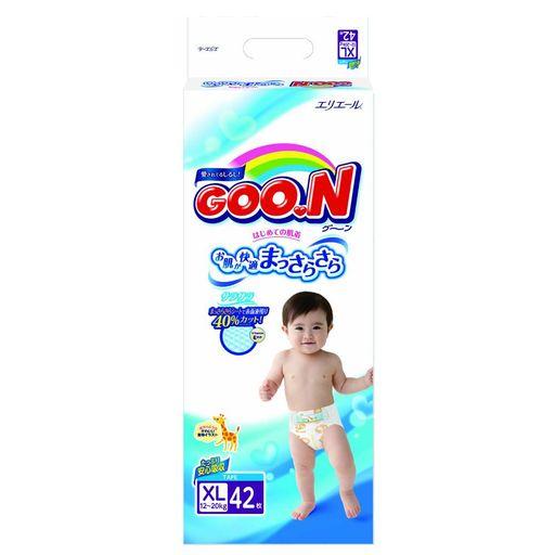 Подгузники детские GOON, 12-20 кг, XL, для мальчиков, 42шт.
