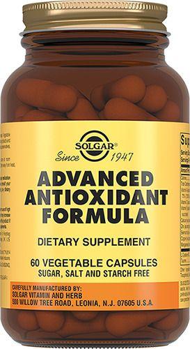 Solgar Антиоксидантная формула, капсулы, 60шт.