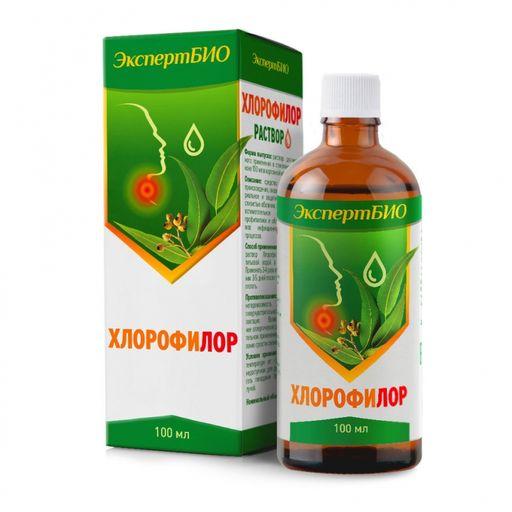 Хлорофилор, раствор для местного применения, 100 мл, 1шт.