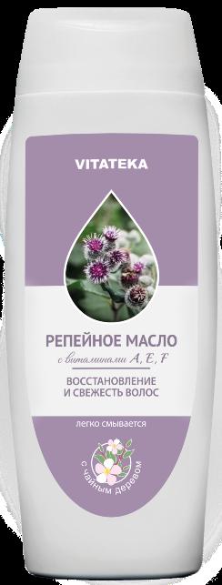 Витатека Репейное масло с чайным деревом, масло косметическое, 100 мл, 1шт.