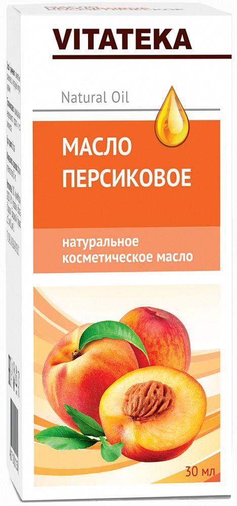 Витатека Масло персиковое, масло косметическое, 30 мл, 1шт.